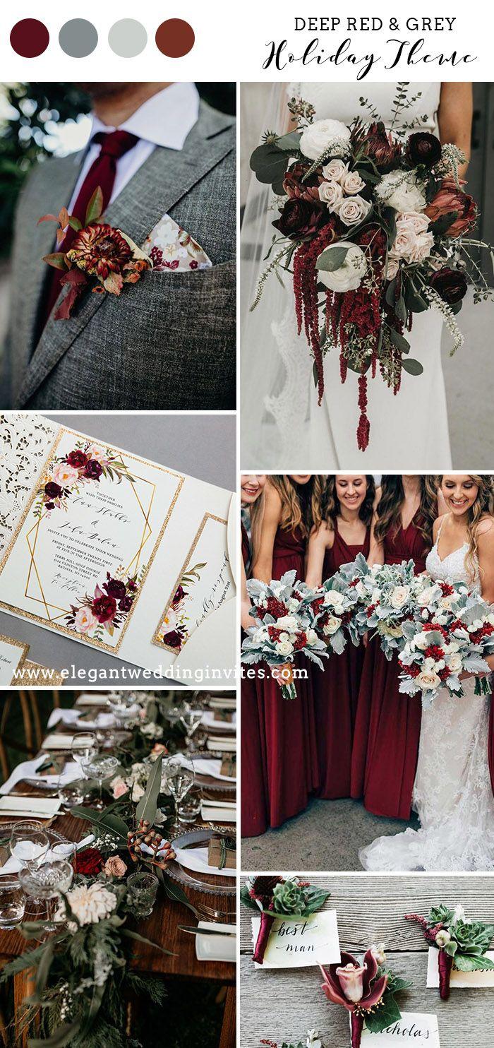 Top 10 Different Winter Wedding Colors Themes Elegantweddinginvites Com Blog In 2020 Wedding Theme Colors Winter Wedding Colors Wedding Colors