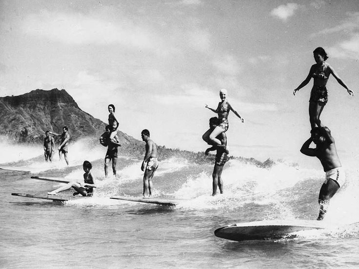In the 1960s, surfing films like Gidget (and the TV series of the same name) and Endless Summer inspired young Americans to not only learn to surf but to search for the perfect wave all over the world, including beautiful locations throughout Hawaii.
