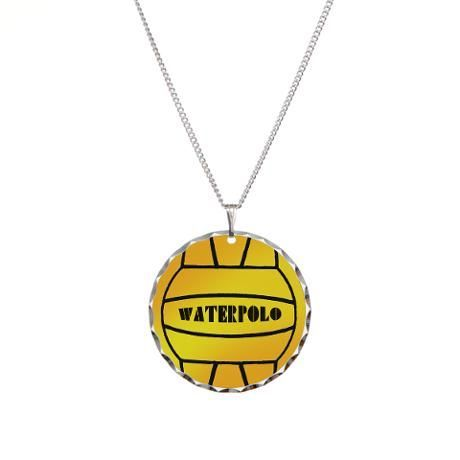 Water Polo Ball Necklace