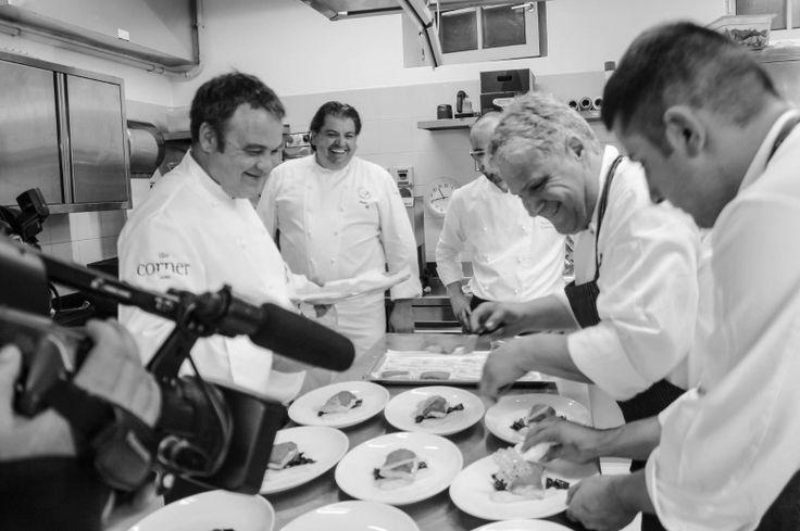 creative vezzena chefs at work Italy, Tasty, Michelin Strar, Gourmet