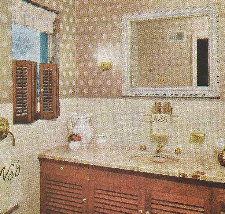 Playroom Workroom Bedroom 1965: 1000+ Images About 1960s Bathroom On Pinterest