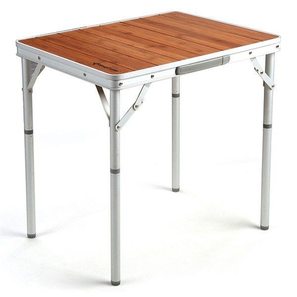 KingCamp Bamboo Aluminium Folding Table   UK   World of Camping