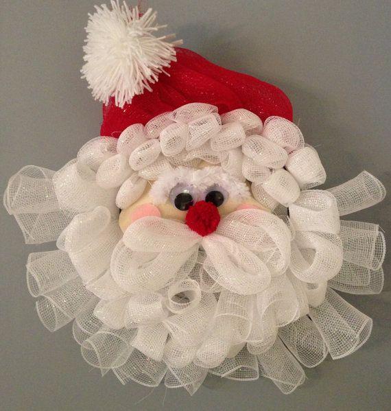 1000+ images about Deco Mesh Santa on Pinterest | Santa ... - photo#23