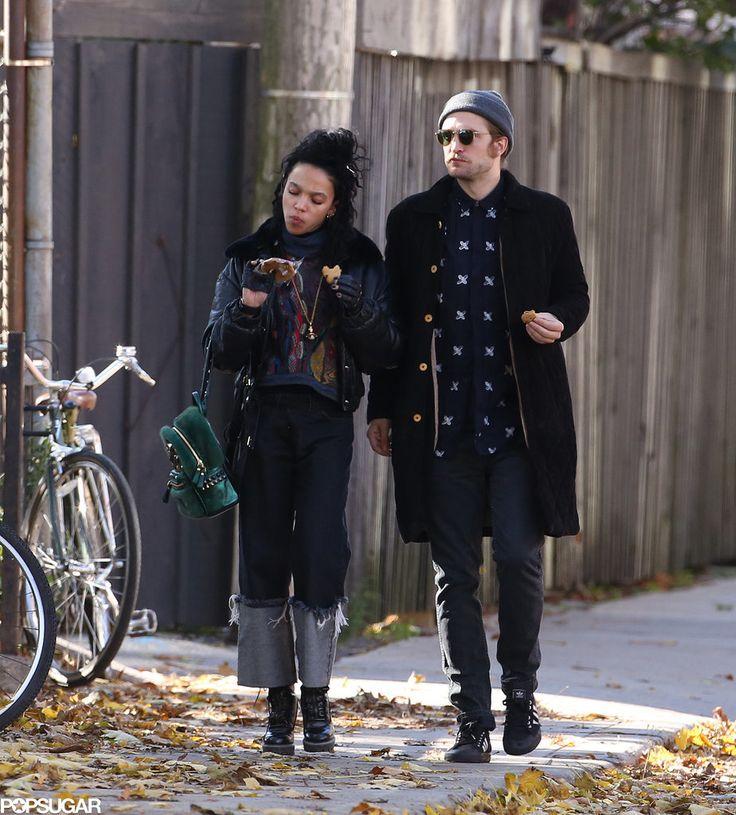 Robert Pattinson and FKA Twigs in Toronto   Photos   POPSUGAR Celebrity