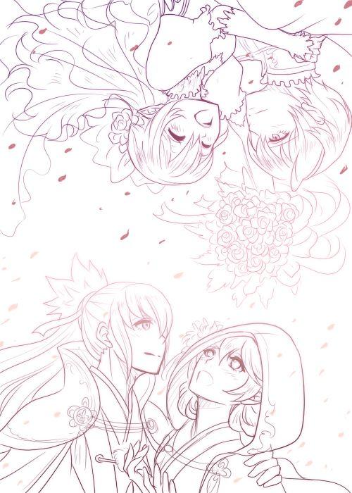 Fire Emblem: If/Fates - Kamui, Takumi and Leon