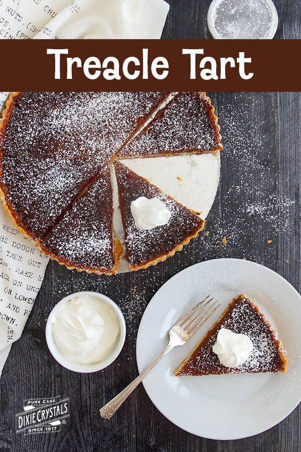 Harry Potter S Treacle Tart Dixie Crystals Recipe English Desserts Treacle Tart Tart Recipes