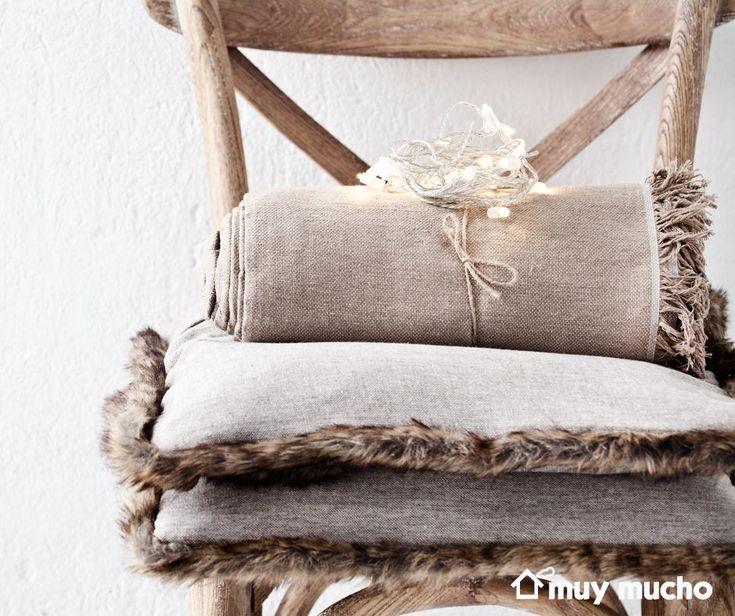 Textiles muebles y iluminaci n de muy mucho muymucho - Decoracion textil hogar ...