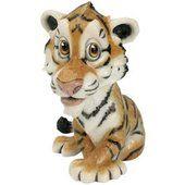 Arora Design - Little Paws - CASSIE - Tiger Figurine