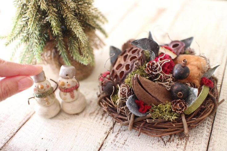 グイの実の画像 by F* lentementさん|ケイトウとコットンとブラックベリーとワイルドリリーとハスと花雑貨と木の実とドライフラワーと花のある生活と今日の一枚とプリザーブド フラワーとハンドメイドとフラワーアレンジメントと販売中と花のある暮らしとクリーマで販売中とクリスマスアレンジとX'masコンテスト-2016- (2016月11月30日)|みどりでつながる🍀GreenSnap