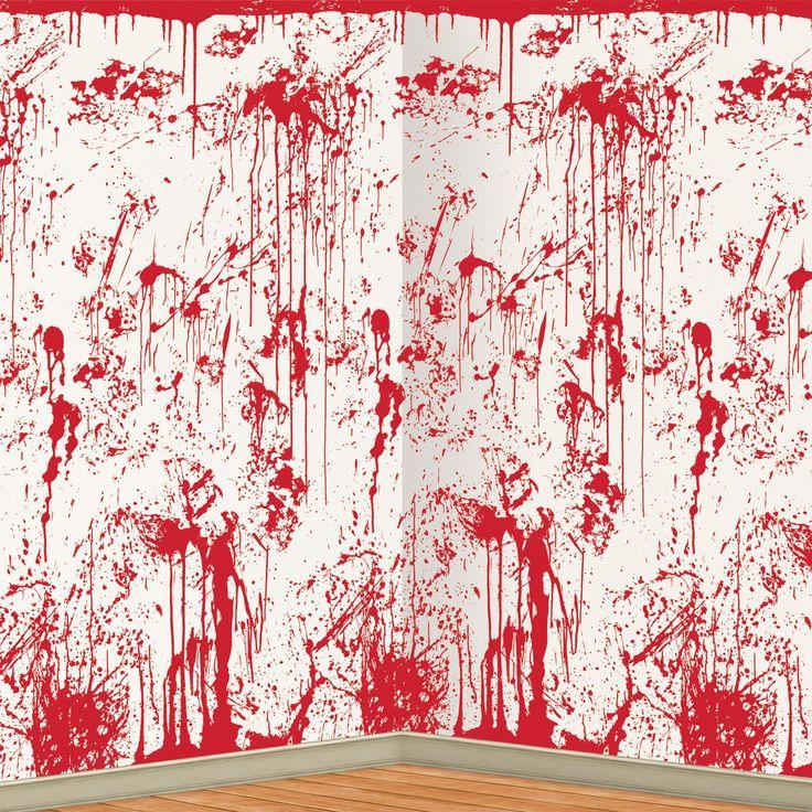 Skab en super uhyggelig stemning med denne blodige vægdekoration, ideel til Halloween og andre uhyggelige begivenheder. Måler 9.1 x 2.2 m.
