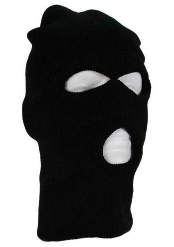 Ski Mask Knitted Winter Wear Military Black  www.GadgetPlus.ca
