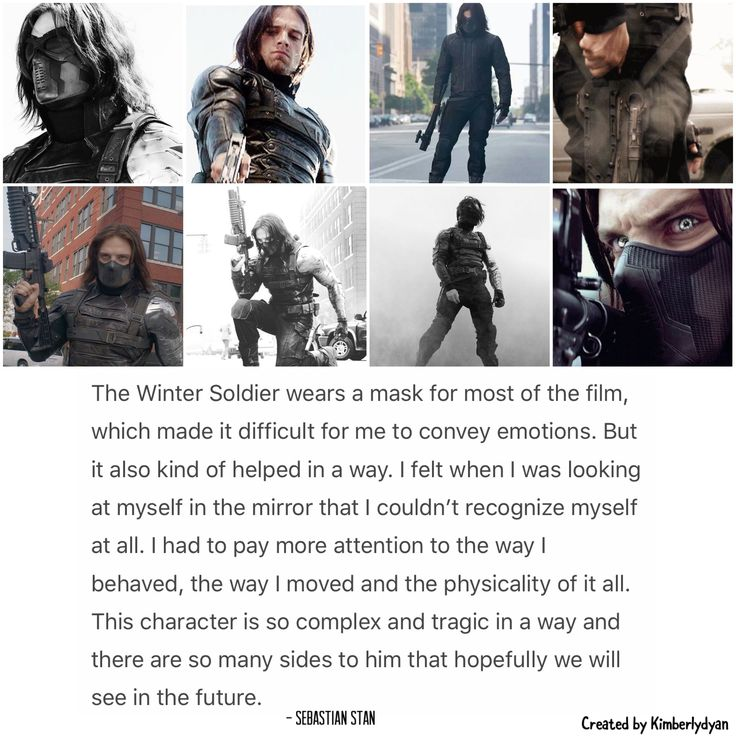 Winter Soldier Sebastian ⭐ Stan created by Kimberlydyan