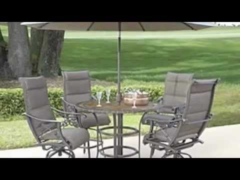 Want To See Some Beautiful Bar Height Patio Furniture Sets?