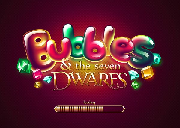 Bubble Dwarfs by Diana Dementeva, via Behance