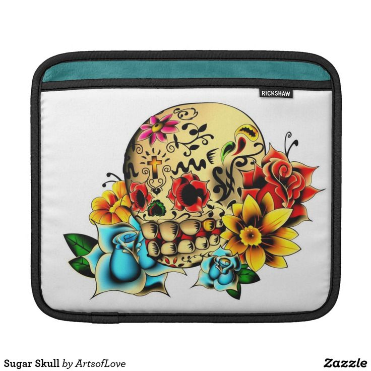 Sugar Skull Sleeve For iPads