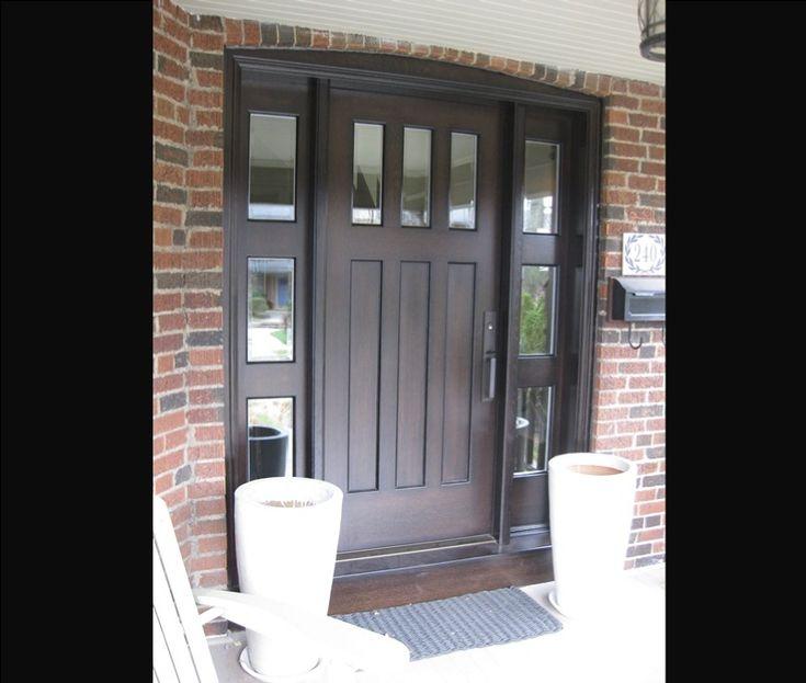 36 Entry Door With Sidelights Exterior Doors Side Light
