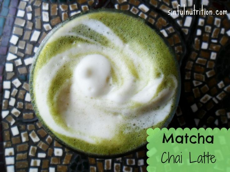 Matcha Chai Latte recipe and instructions - Sinful Nutrition