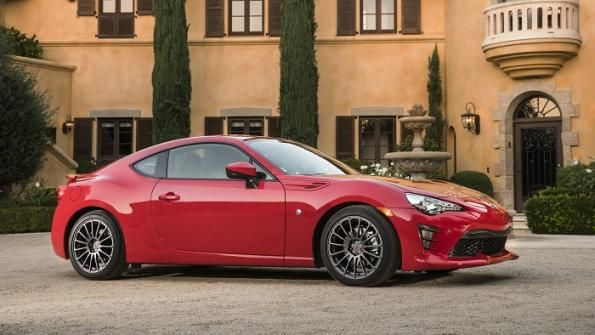 The Scion FR-S gets a midcycle refresh as it joins the Toyota brand as the 86, with its manual-transmission model receiving engine updates and all grades getting better interior materials.