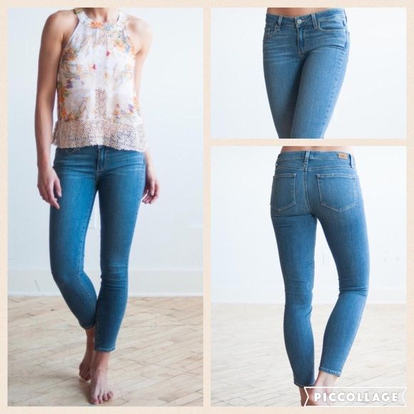"""Paige Verdugo Ankle jeans Super soft Paige Verdugo Ankle style jeans. Note: the style tag says """"Verdugo ankle petite"""". These fit me just like the Verdugo ankle crop style, so i didn't even notice until I got home from the store   they fit so well that I kept them anyway! Paige Jeans Jeans"""