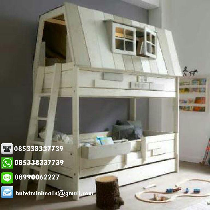Ranjang Susun Model Rumah Adat