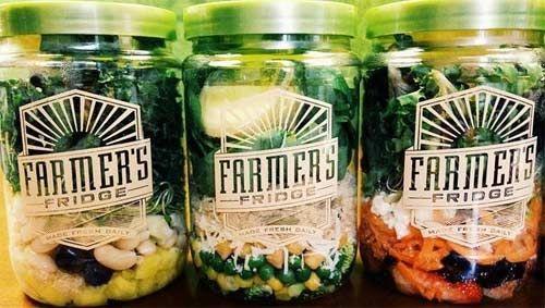 Distributore automatico di cibi biologici, il Farmer Fridge