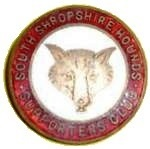 Old South Shropshire Hounds Supporters Club badge.  There are several hunts in the county.  The current Master of this one is Otis Ferry (son of Bryan Ferry).