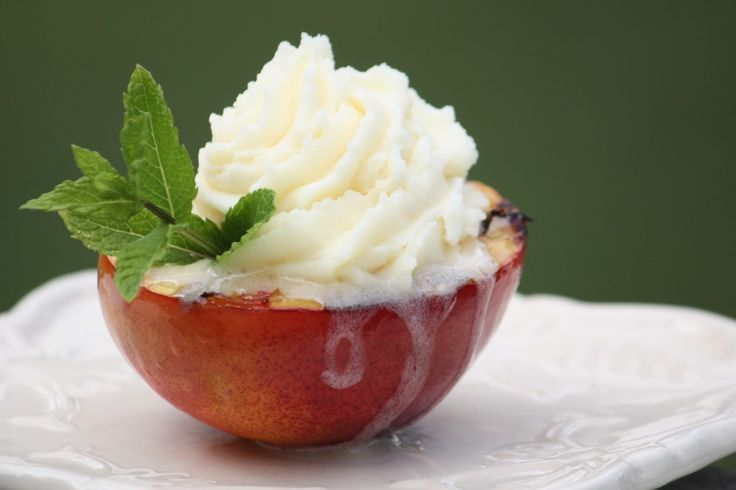 White Nectarine Ice Cream Recipes — Dishmaps