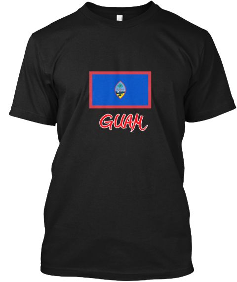 Guam Flag Artistic Red Design Black T-Shirt Front - This is the perfect gift for someone who loves Guam. Thank you for visiting my page (Related terms: I Heart Guam,Guam,Guamanian,Guam Travel,I Love My Country,Guam Flag, Guam Map,Guam Language, Guam De #Guam, #Guamshirts...)