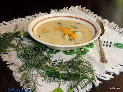 Moje Małe Czarowanie: Zupa koperkowa