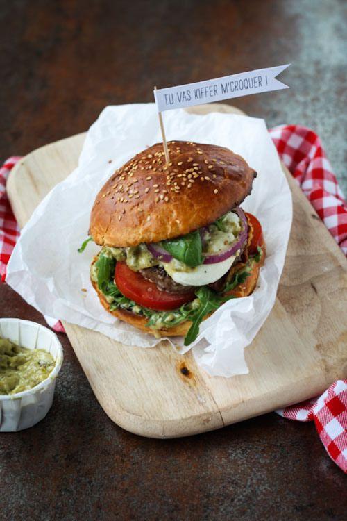 Hamburger aux saveurs d'Italie