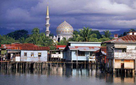 Shimmering delight: Sabah's capital city Kota Kinabalu