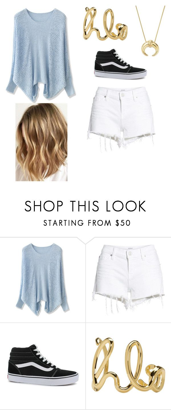 """""""Simple Beauty"""" by lavidaeschulisimaosea on Polyvore featuring moda, Chicwish, Hudson Jeans, Vans, Chloé y Bloomingdale's"""