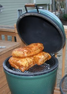 Some great recipes for those with a Big Green Egg smoker.