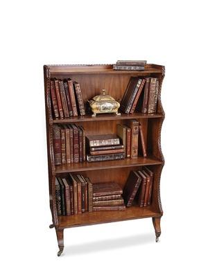 Saber Leg Bookcase By Sarreid On Gilt Home