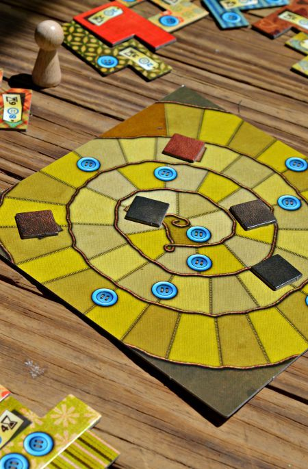 Patchwork game board