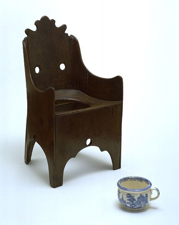 Child's commode chair and chamber pot - 69 Best Chamber Pots - Commodes Images On Pinterest History