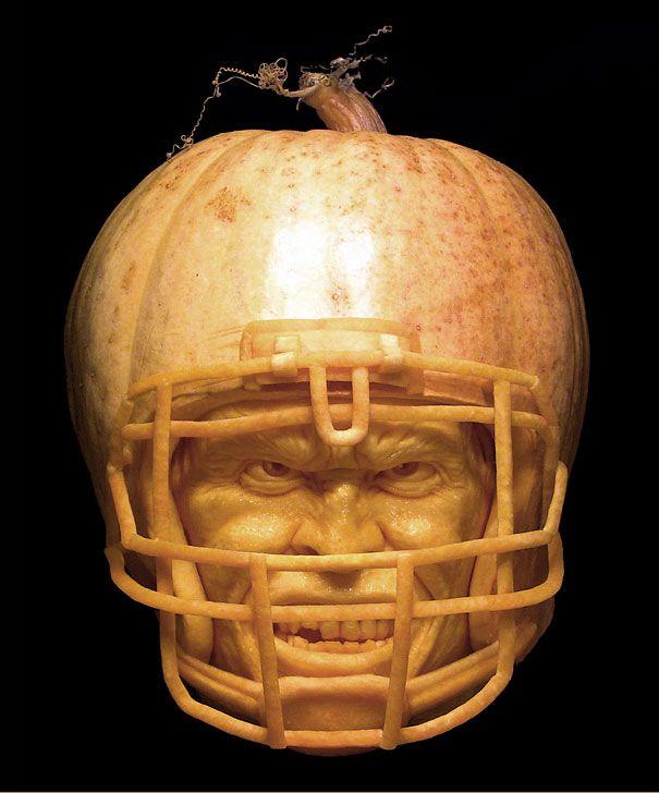 Making your next hallowen looks better! Pumpkin carvings