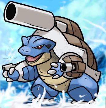 how to draw pokemon sea turtles
