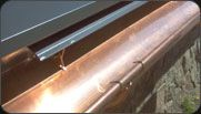 Rolled form gutters