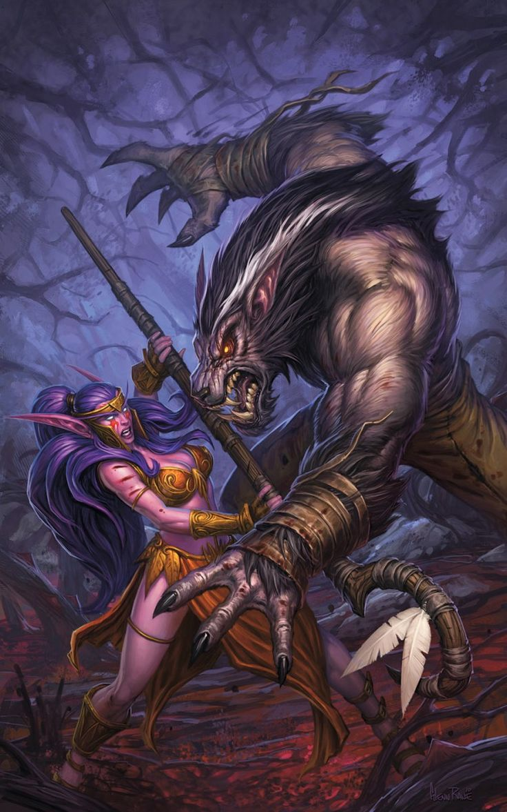 World of Warcraft Curse of the Worgen Comic Covers