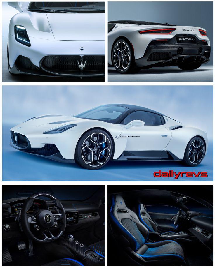 2021 Maserati MC20 Dailyrevs in 2020 Maserati