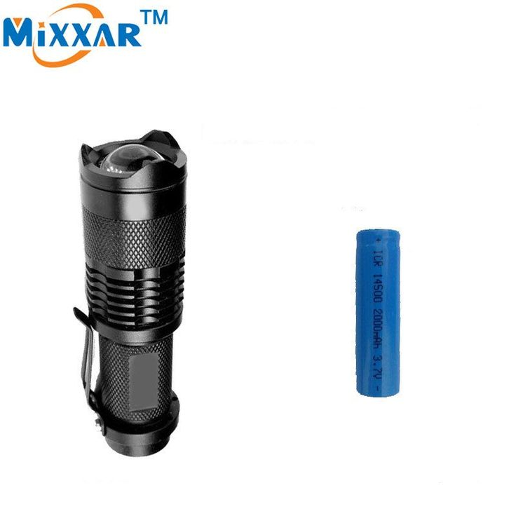 ZK50 CREE Q5 Mini 2000LM 3 Modes LED Flashlights Waterproof Adjustable Focus Zoom Flash Light Lamp Camping Torch