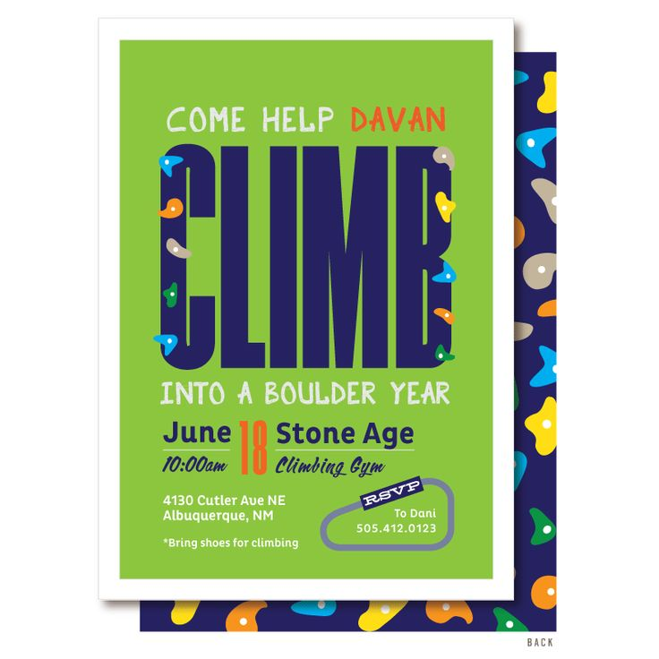 51 best Rock Climbing Birthday - Rock Climbing Birthday Party ...