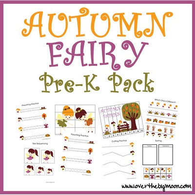 Autumn Fairy - November - goes with the gnomes pack