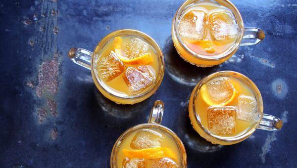 Punch à la Taylor (Irish Whiskey, Assam Tea, Suze Gentian Liqueur, Tamarind, Clementine, Oleo-Saccharum Cocktail) Recipe   SAVEUR
