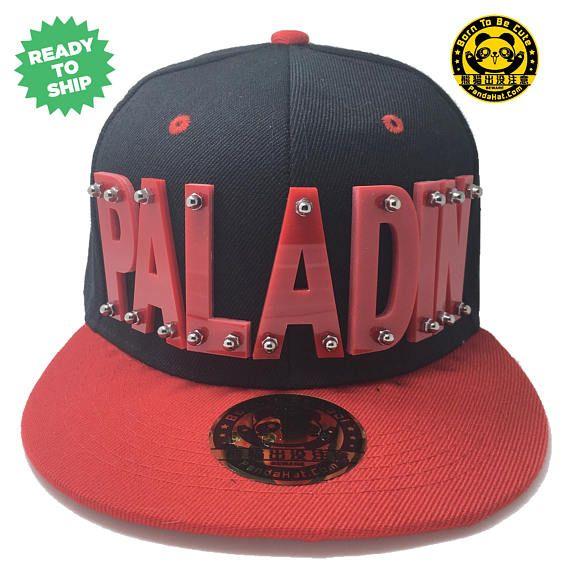 Paladin Voltron Arcylic Snapback Hat with red brim in red  2ca4e31da892