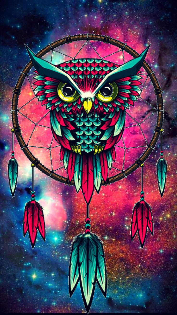 Wallpaper iphone mandala - Owl More Owl Artowl Wallpaper Iphonedreamcatcher