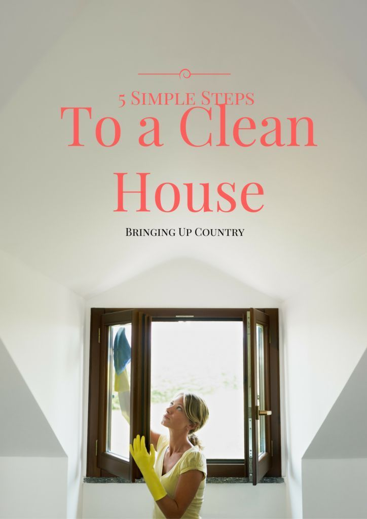 5 Simple Tips to Keep a Clean House