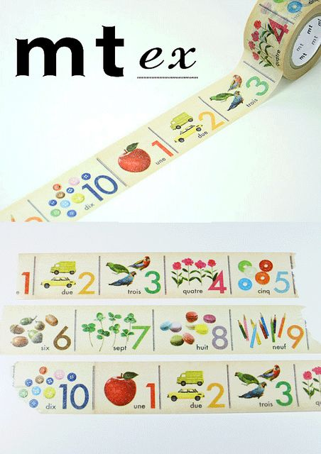 *new* MT Tape ex: Numbers by the little dröm store, via Flickr