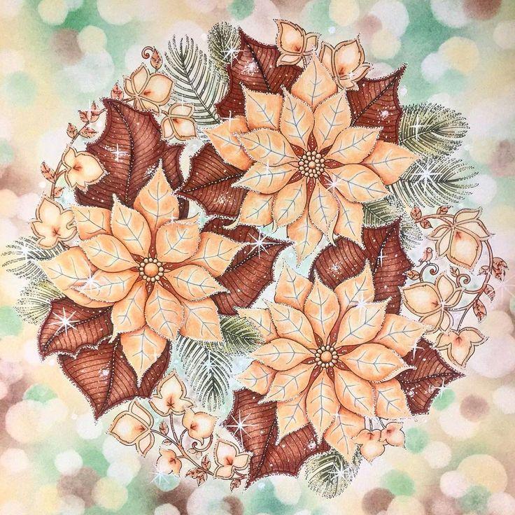 Сначала планировал сладкую тему -шоколадные листья и засахаренные цветы, но по ходу дела решил не рисковать с цветами и сделать все в инее) #letscoloritmarathon #secretgardencoloringbook #enchantedforestcoloringbook #раскраска #раскраскаантистрес #раскраскаантистресс #раскраскадлявзрослых #раскраскадлявсех #джоаннабэсфорд #джоаннабасфорд #рождественскиечудеса #зачарованныйлес #раскрасказачарованныйлес #таинственныйсад #раскраскатаинственныйсад #затерянныйокеан #coloring #coloringbook…